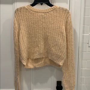 Pacsun cropped sweater